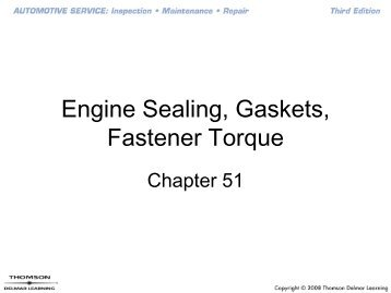 Engine Sealing, Gaskets, Fastener Torque - It works!