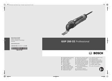 GOP 250 CE Professional