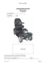 Gebrauchsanleitung Mini Crosser T Joystick ver 1.2.1.indd