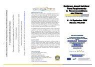 Evidence-based Nutrition - Graduate School VLAG