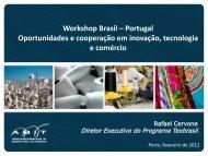 Workshop Brasil – Portugal Oportunidades e cooperação em ... - ATP