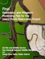 Island Ponds - Final Restoration & Mitigation Monitoring Plan