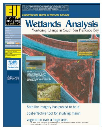 Earth Imaging Journal - South Bay Salt Pond Restoration Project