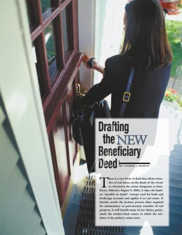 Drafting the New Beneficiary Deed