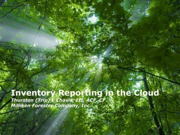 Inventory Reporting in the Cloud