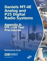 MG-00A-2-0-0 Appendix A IFR 1200 Tests.indd - Daniels Electronics