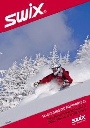 Swix sport - ski/snowboard preparation - Reliable  Racing