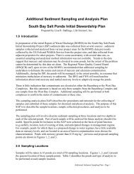 I Sediment Sampling Plan.pdf - South Bay Salt Pond Restoration ...