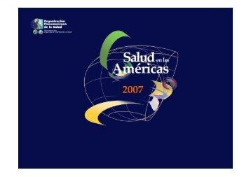 Salud en las Américas 2007