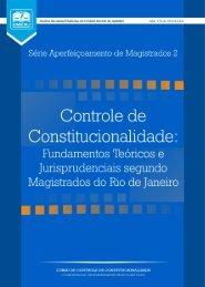 Controle de Constitucionalidade - Emerj - Tribunal de Justiça do ...