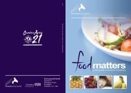 1721 - Food Matters 32pp - Coventry Partnership