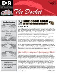 April 2013 - DBR Chamber of Commerce