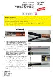 Endeafslutning for Magnefix 12 kV 50 - 240 mm² type ... - DESITEK A/S