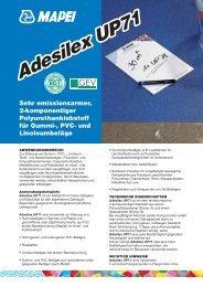 Adesilex UP71 - Mapei