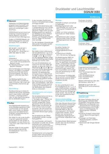 Drucktaster und Leuchtmelder - RELKO