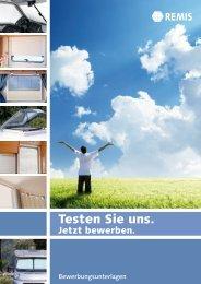 Bewerbungsbogen - remimobil.de