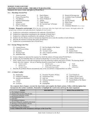 study guide09 with answers - Duplin County Schools