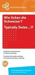 Informationen - Swiss German Club