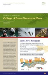 Fall - School of Environmental and Forest Sciences - University of ...