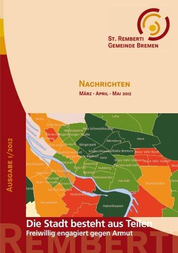 Die Stadt besteht aus Teilen - St. Remberti Gemeinde Bremen