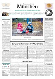 Bürgerentscheid entzweit SPD und Grüne - Süddeutsche Zeitung