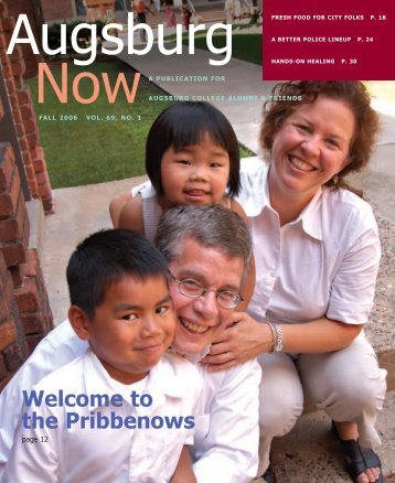 Download the Fall 2006 PDF - Augsburg College