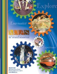 school programs guide - Museum of Arts and Sciences