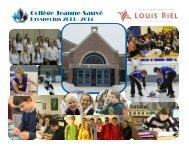 Collège Jeanne-Sauvé 2013-2014 Prospectus - Louis Riel School ...