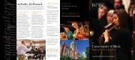 Conservatory of Music - University of the Pacific