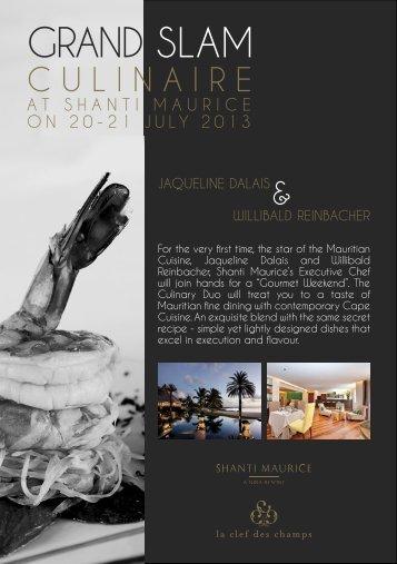GRAND SLAM - Shanti Maurice