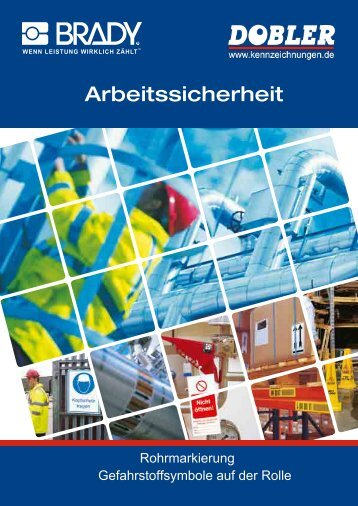 Katalog Gefahrstoff- symbole auf der Rolle - Dobler GmbH Dobler ...