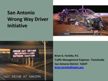 presentation - Texas A&M Transportation Institute