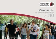 Student Survival Guide - Macquarie University Handbooks