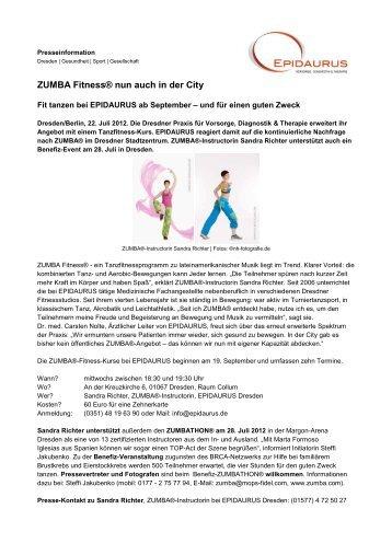 Fit tanzen bei EPIDAURUS ab September und für einen guten Zweck
