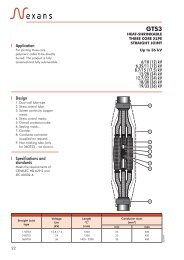 GTS3 - Nexans Power Accessories Germany GmbH