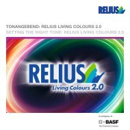 Broschüre Living Colours 2.0 - Relius