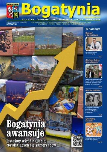 3 www.bogatynia.pl Nr 10 (42) październik - listopad 2012