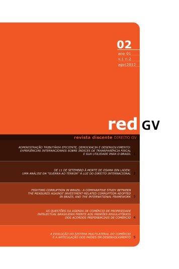 redDGV : 02 - Escola de Direito de São Paulo - Fundação Getulio ...
