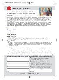 Anmeldung Pilgerfahrt Slowakei - 13-03-10 - Kirche in Not