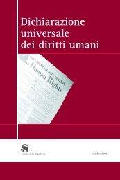 Dichiarazione universale dei diritti umani (pdf) - E-workshop