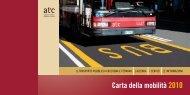 Carta della mobilità 2010 - Impronta Etica