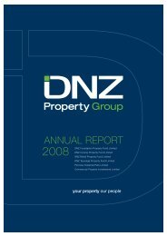 ANNUAL REPORT - DNZ Property Fund