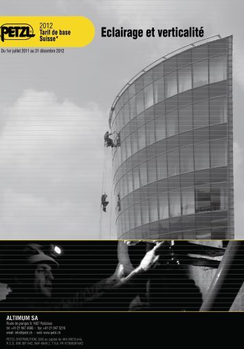Eclairage et verticalité - Altimum SA