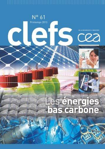 Les énergies bas carbone - CEA