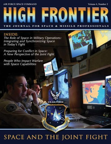 Senior Leader Perspective - Air Force Space Command