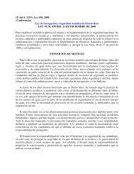 (P. del S. 1215), Ley 430, 2000 (Conferencia) Ley de ... - La Regata