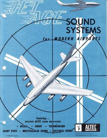 Altec_Jet_age_sound_systems_1965 - Preservation Sound