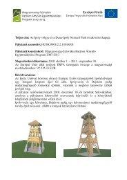 Az Ipoly völgye és a Duna-Ipoly Nemzeti Park észak-keleti kapuja