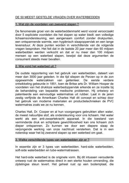 DE 50 MEEST GESTELDE VRAGEN OVER  ... - Renique Interieurs
