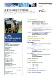2. Strategieworkshop - GGSC Seminare